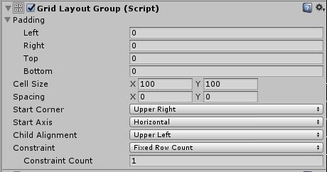 GridLayoutGroup - WeaponToggle